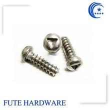 Tound head triangle groove Stainless Steel screws
