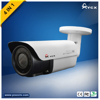 High Definition Outdoor Hybrid CCTV Camera 1080P AHD Camera With CE FCC Rosh Certificate