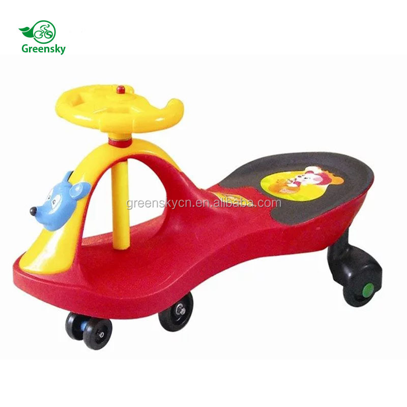 Plastic toy cars for big kids to drive walking ride-on car