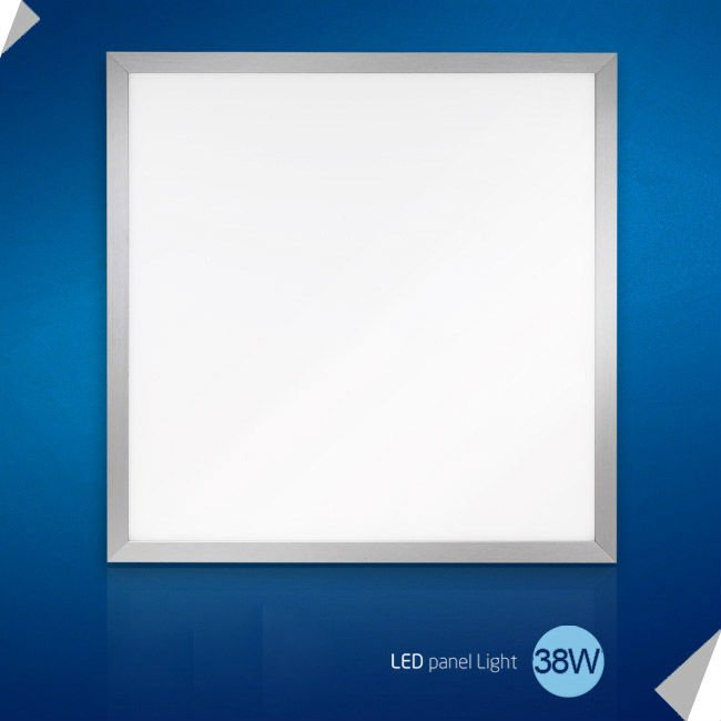 38W 600*600mm SMD3528 LED light panel zhongtian