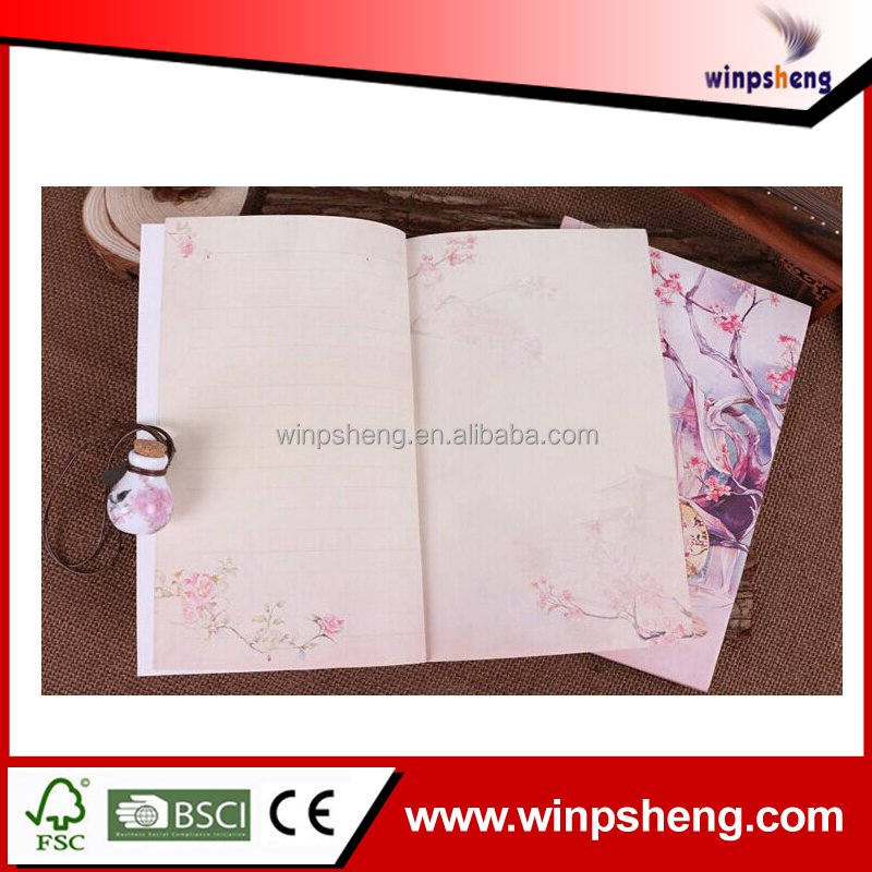 custom chinese character notebook