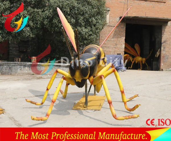 Robotic insects exhibition artificial bumblebee animatronic insect
