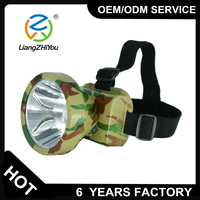 LED head torches battery head light for hunting night