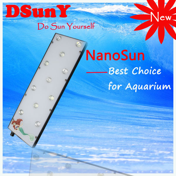 With 0~100% dimmable knob DSunY dimmable nano aquarium led dimmer timer