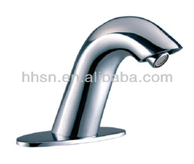 HH2882 countertop basin brass touch automatic bathroom faucet