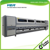 Hot selling 5m WER SD 5308,Strong featuers wide format ,plotter de impresion