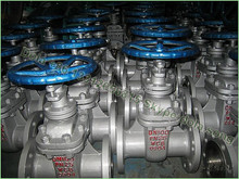 High performance wcb material din standard rising stem gate valve
