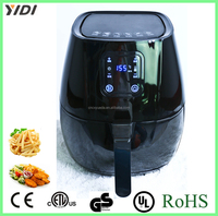 Hot-selling chips maker electric Air Fryer without oil with Digital LED Touch Display for Healthy Frying no oil air deep fryer