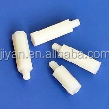 Excellent quality white black m10 nylon plastic motherboard standoff with female male thread