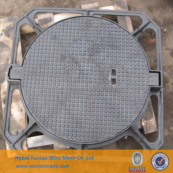 OEM Round Ductile /Casting Iron Manhole Cover Outdoors Foundry Direct
