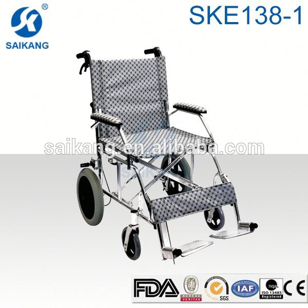 SKE138-1 manual wheelchair with high back