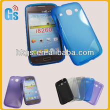 Hot for samsung galaxy core i8260 i8262 mobile phone case tpu s line