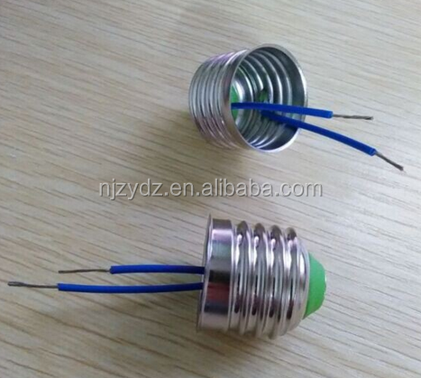 Lamp cap E27 screw shell lamp base