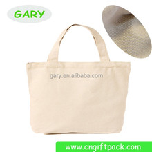 Promotional Canvas Reusable Shopping Bags/Blank Canvas Wholesale Tote Bag