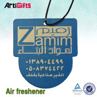 Wholesale promotion hanging paper auto air freshener