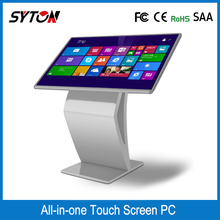 Used for retail mall digital signage advertising multi touch screen kiosk