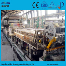 Old corrugated carton recycling type corrugated carton machine for paper manufacturing plant