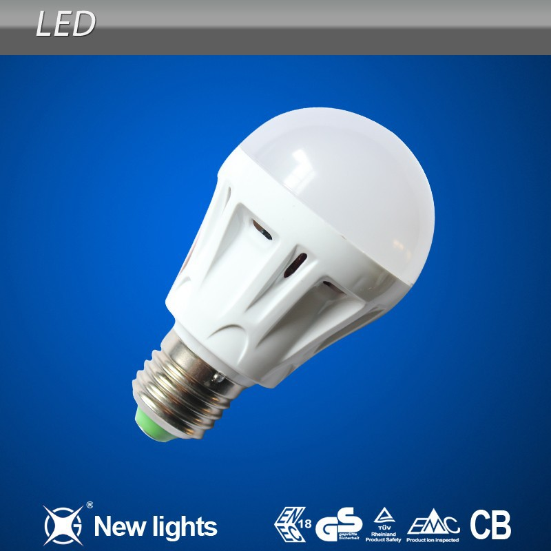 Best Sale Model A60 Led Lamp 7W Plastic Led Bulb Used in Chandelier