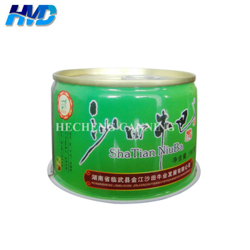 OEM Accept Empty can for packaging food