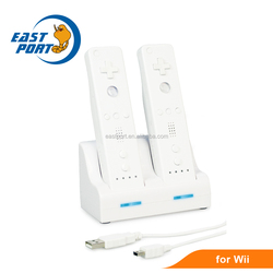 Twin remote charger for Wii