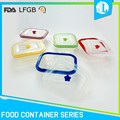 New production silicone material square thermo food container