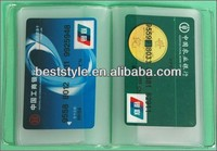 Plastic Card Protector Sleeves