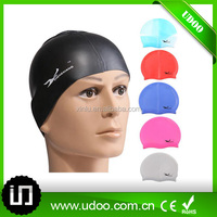 Most popular waterproof adult 100% silicone swim cap
