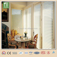 Modern style office shangri-la window blinds bendable curtain rail
