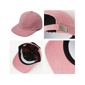 suede baseball cap with metal clasp ponytail baseball cap