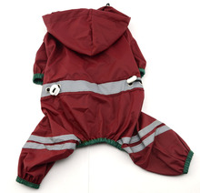 High quality dog clothes raincoat, raincoats for large dogs, dog fancy raincoat
