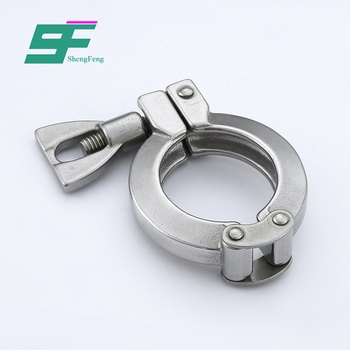 Low price wholesale security stainless steel standard double pin clamp