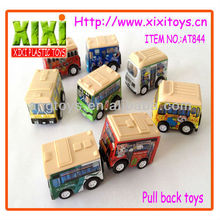 Universal cartoon toy school bus model