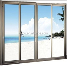 Factory price commercial double glass doors