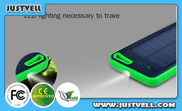 Wholesale 5600mAh solar battery charger with led indicator for iPad2/3/4/mini /iPad air, all iPhone