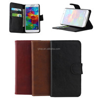 For Samsung Galaxy S5 I9600 Leather Skin Cover Case Phone Case