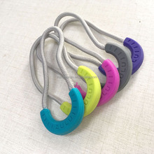 Manufacture Custom Rubber Silicone Plastic Zipper Pull Puller Slider for Garment and Bags
