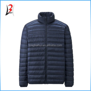 Nylon men Jacket winter branded clothing stock lots
