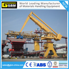 GBM grab barge mounted equilibrium crane with fixed/rails/free standing/crawlers