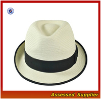 PA221/London Panama Stingy Brim Fedora Hat/wide brim felt fedora hat/men's wide brim fedora