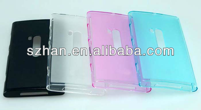 New Glossy +Matte Crystal TPU Case Cover For Nokia Lumia 920