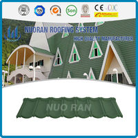 NUORAN 2015 China new product concrete roof tile price