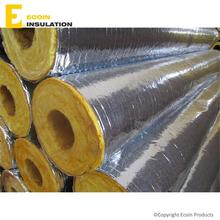Acoustic Heat Insulation Glass Wool 2 Inch Pipe With Fireproof Fsk
