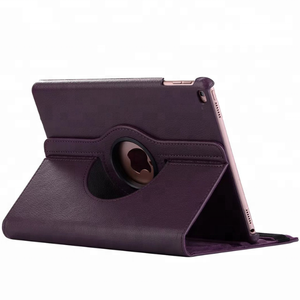 Rotating Stand Flip PU Leather Tablet Case For ipad mini 4 case