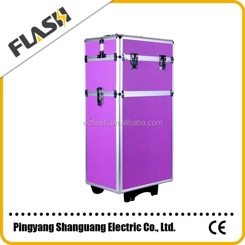 Big Capacity Travelling Aluminum Beauty Case for Wholesale