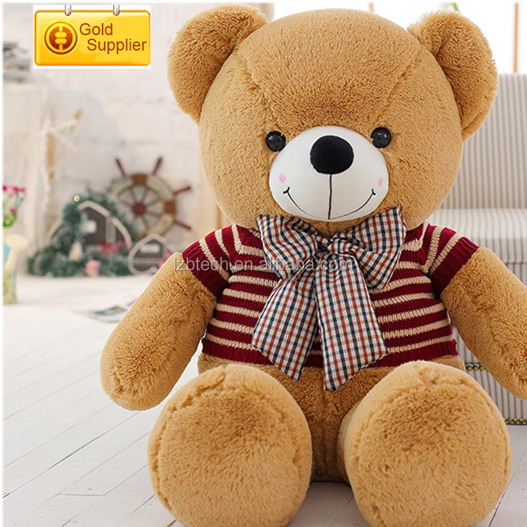 Lovely animals stuffed baby toy customized size 300cm teddy bear plush toys