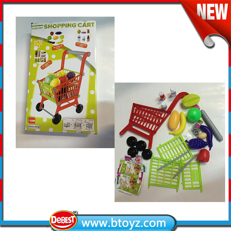 Supermarket Mini Baby Shopping Cart Toy