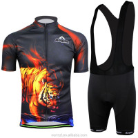 2015 Newest Design Padded Cycling bib Shorts