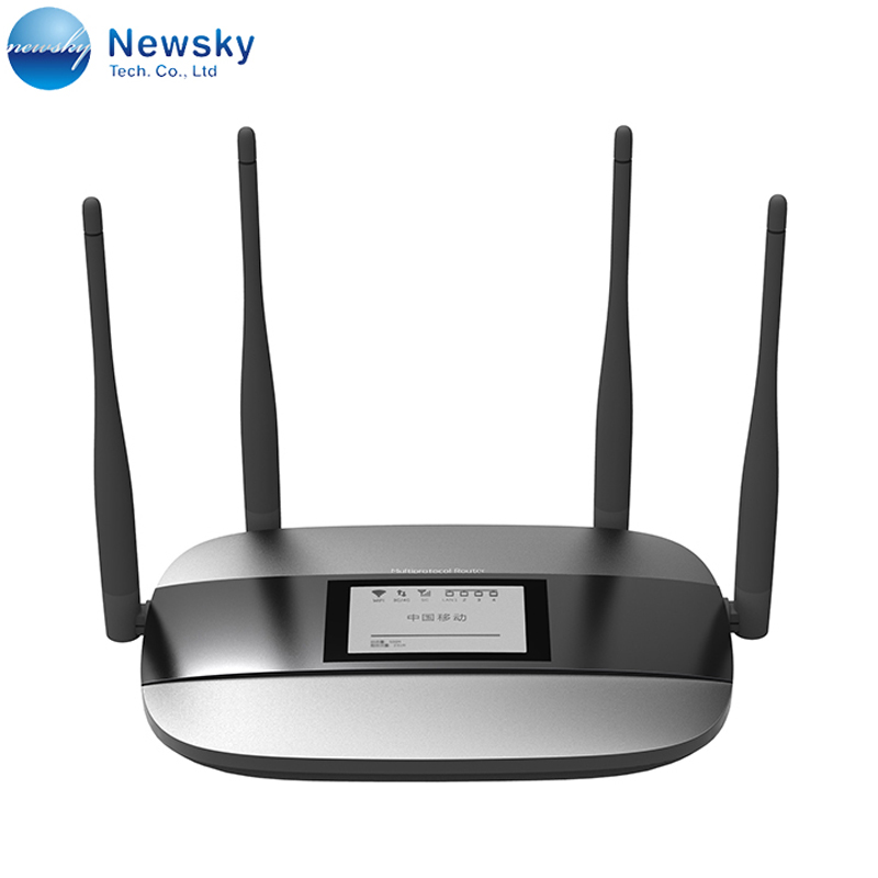 Unlocked 150Mbps LTE Indoor CPE Router 4G with 4 Ethernet Ports