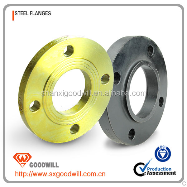 raised serrated face plate flange