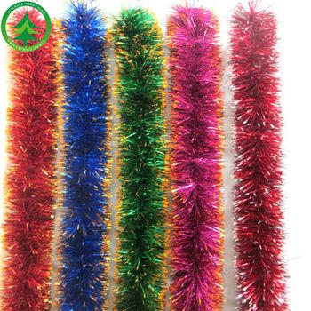 2014 wholesale christmas decorations christmas wired tinsel garland christmas metal tinsel garland christmas tinsel garland - Christmas Decorations Wholesale